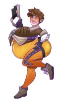 Big belly tracer by Blueberry-shortcake