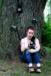 me and my camera's by CherryValence