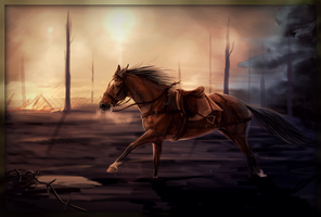 The War Horse by Pudingi