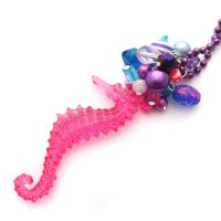 Seahorse Necklace by fairy-cakes