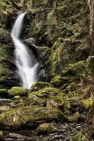 dolgoch waterfall by CharmingPhotography