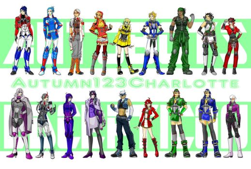 GIRL GENERATIONS by Autumn123Charlotte