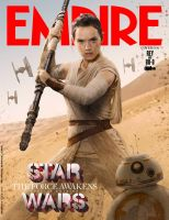Star Wars: TFA Empire Cover of Rey and BB-8 by Artlover67