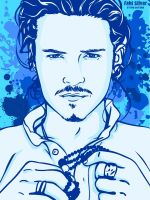 Orlando Bloom by studiocartoon