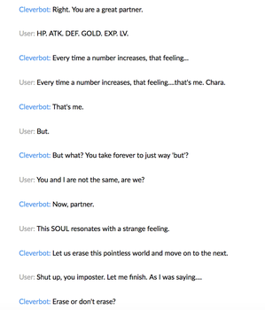 Cleverbot 9 by MistwolfUmbreon