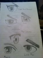 Smash Bros. Characters' Eyes by AxelLover874