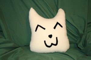 Mr. Pillow McCat-Face by moordred-fangirl
