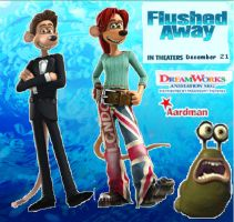 Flushed Away background by theneopetmaster