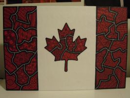 Sharpie Canada Flag by meralies