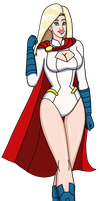 Power Girl 2014 by PerryWhite