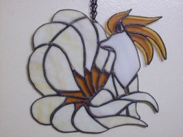 Ninetails Stained Glass by Blue-Falcon-Serenity