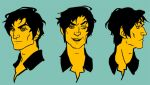 Crowley faces by lastlabyrinth