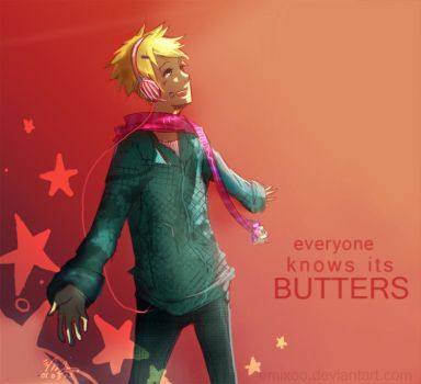 Everyone knows it's butters by emixoO