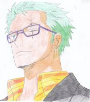 Hipster Zoro by Lasconi
