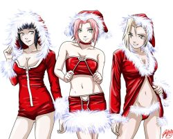 Naruto Xmas - December PinUp by jadeedge