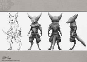 Kal - Model Sheet by duh-veed