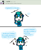 .:Ask my Oc's 10:. by FnFiNdOART