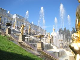 The Palace Fountains by hope-on-fire