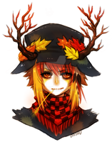 commission -- scarecrow by onisuu