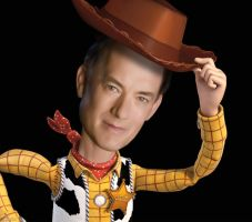 Tom Hanks as Woody by Rujero