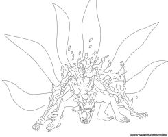 Lineart Naruto 437 by zeth3047