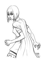 Daily Sketches Sheila the thief by fedde