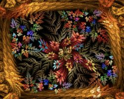 Autumnal Basket by Kancano