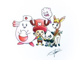 One Piece X Pokemon (Chopper)