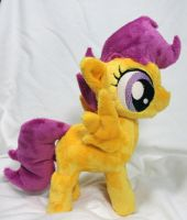 Scootaloo Plush by Cryptic-Enigma