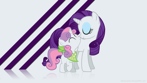 Sisterly Love Wallpaper by Silentmatten