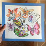 Lepidoptera Pokemon by snivellus747