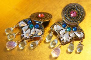 Dreamcatcher Clip Earrings by Mariquez