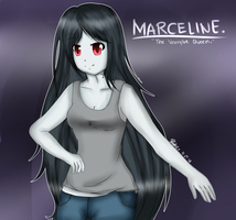 Marceline. by UTAUYukoYasashine