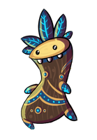 Tree voodoo guy by Tysirr