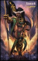 Sankofa the War General by JomaroKindred
