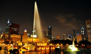 Buckingham Fountain by freeskifreeride