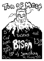 Ton of Meat Flyer by rocksicle