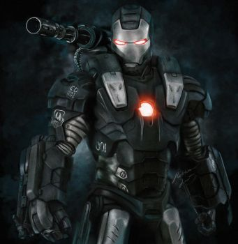 War Machine by Bya-Bya