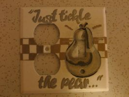 Face Plate - Tickle the Pear by LeraDraco69
