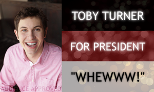 Toby Turner For President by sienetta