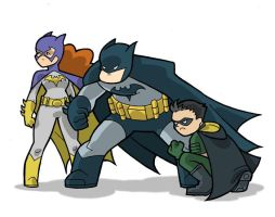The Bat Fambly by JoelRCarroll