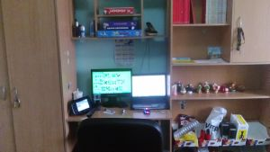 My house (2015-5/18/2017) Office by Catali2016