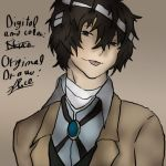 Dazai color by Insurens