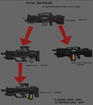 a gun has evolved by notrace