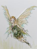 Forest Fairy by HermesMoon