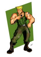 Guile Colored by zulu94