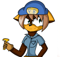 WIR: becky as fix it felix by LethalWeapon07