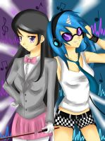 FiM: Mistresses of Music by Pandykissu