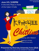 Kimchee and Chitlins Flier by mrgoggles