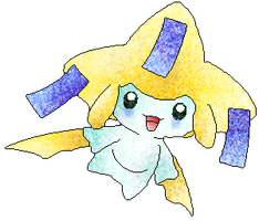 Jirachi air brush methode by RougeSulfura